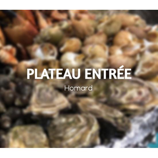 Plateau entrée homard